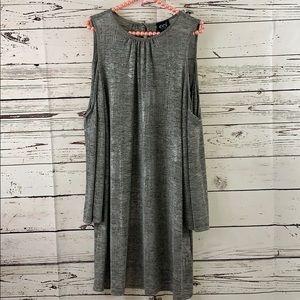eci New York silver dress